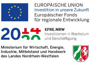 Gefördert vom Europäischer Fonds für regionale Entwicklung (EFRE)